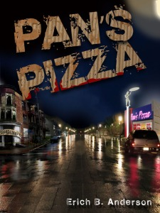Check out Pan's Pizza, my first work of fiction.  It is available on Amazon.