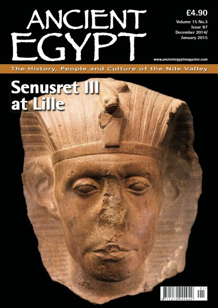 My most recent article, published in Ancient Egypt.
