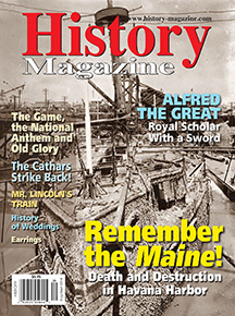 "History Magazine Aug/Sep, 2014 ""The Cathars Strike Back"""