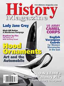 "History Magazine Feb/Mar, 2015 ""English Varangian Guardsmen: Far Western Mercenaries in the East"""