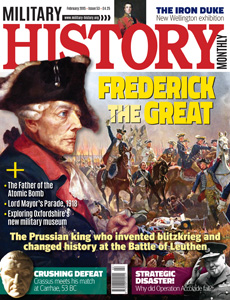 "Military History Monthly February, 2015 ""Carrhae, 53 BC: Rome's Middle Eastern Disaster"""