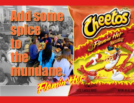 Erich B Anderson sample Cheetos half pg ad FNL